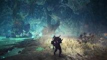 Monster Hunter World : Iceborne - Gameplay de l'Acidic Glavenus
