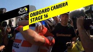 Onboard camera Emotions - Étape 16 / Stage 16 - Tour de France 2019