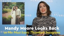 "Mandy Moore Looks Back on Filming A Walk to Remember: ""I Completely Fell in Love With Shane"""