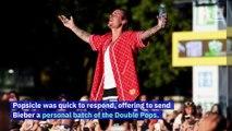 Justin Bieber Convinces Popsicle to Bring Back Double Pops