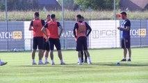 SPOR Fenerbahçe hazırlıklarını sürdürüyor