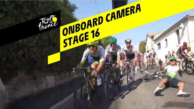 Onboard camera - Étape 16 / Stage 16 - Tour de France 2019