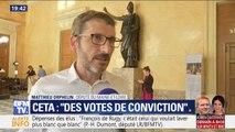 """""""Les députés de la majorité ont envie de voter par conviction."""" Matthieu Orphelin réagit à la forte abstention des députés LaREM sur le CETA"""