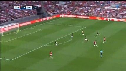 PSV - FC Basel 1-0 door Bruma