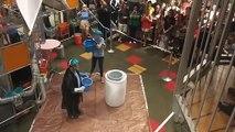 Verser de l'eau chaude dans de l'azote liquide : experience de dingue