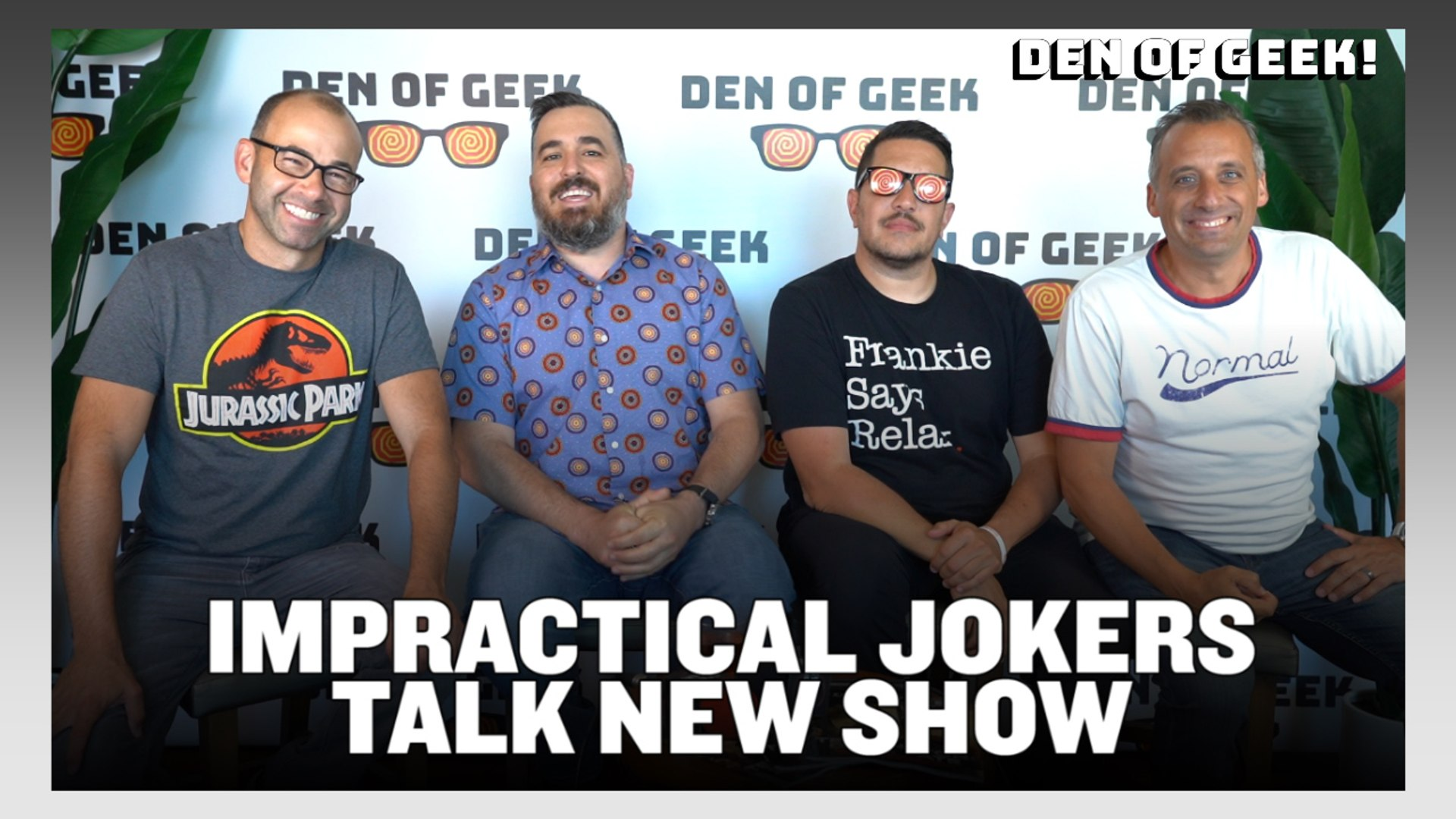 Interview With Impractical Jokers' James Murray, Joe Gatto, Sal Vulcano, and Brian Quinn | SDCC