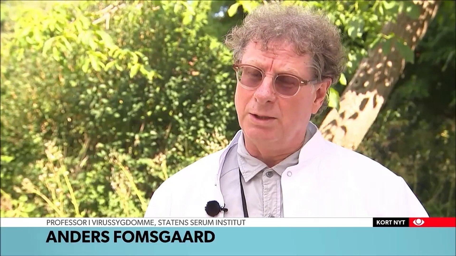 Efter flåtbid: 59-årig smittet med hjernebetændelse -  DR TVAvisen 23-07-2019