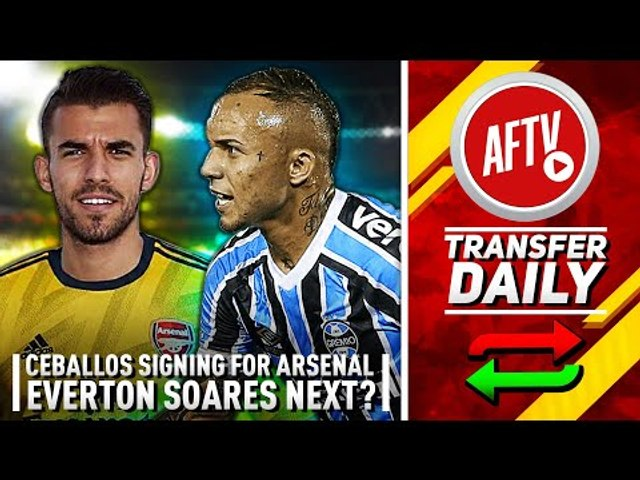 Ceballos Signing For Arsenal & Everton Could Be Next! | AFTV Transfer Daily