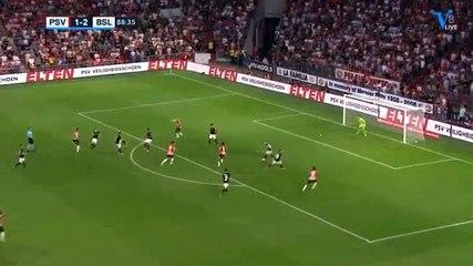 Sam Lammers Goal HD - PSV (Ned)2-2Basel (Sui) 23.07.2019