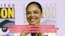 "Tessa Thompson's ""Valkyrie"" to be Marvel's First Official LGBTQ Superhero"