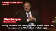 Mike Pompeo Says 'We Lied, We Cheated, We Stole' in CIA