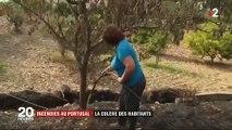 Incendie au Portugal : le sentiment d'abandon des habitants