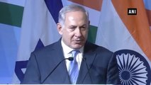 Israeli PM Netanyahu Attends India-Israel Business Summit