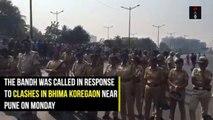 Maharashtra Bandh -  Normal Life Hit In Mumbai, Pune After Bandh Call By Dalit Groups