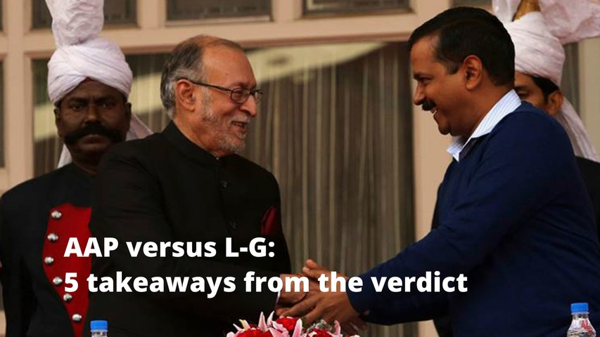 L-G versus Aam Aadmi Party: What the Supreme Court said
