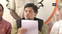 People Will Be Conveyed Of Centre's Economical Policies- Piyush Goyal On Anti Black Money Day