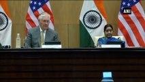U.S. Stands Shoulder To Shoulder With New Delhi Against Terrorism -  Rex Tillerson