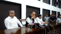 Ghulam Nabi Azad, Sharad Yadav & Derek O'brien Addressing A Press Conference In Delhi