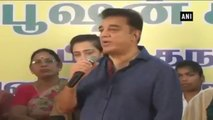 Kamal Haasan Meets Rain-hit Chennai Residents On His Birthday