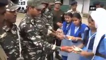 Women Celebrate 'Raksha Bandhan' With Soldiers At LoC