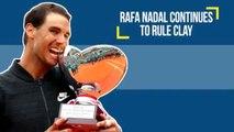 Serena Williams Takes A Maternity Break, Maria Sharapova Returns, Rafa Nadal Continues To Rule Clay