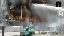 Major Fire Broke Out In A  Factory In Noida