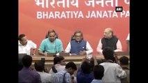 Former Congress Leader SM Krishna Formally Joins BJP