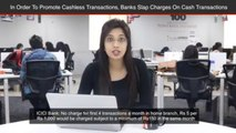 Axis Bank, ICICI, HDFC Slap Charges On Cash Transactions