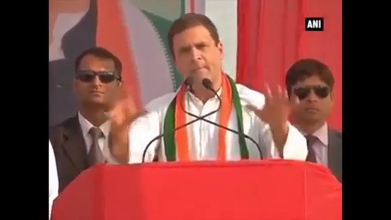 Will Provide Job Opportunities To Youth In UP –  Rahul Gandhi