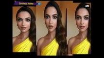 Golden Globes Awards 2017 -  Deepika Padukone Goes Canary Yellow