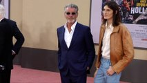 "Pierce Brosnan, Dylan Brosnan ""Once Upon a Time in Hollywood"" World Premiere Red Carpet"