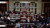 House Votes To Oppose BDS Movement Targeting Israel