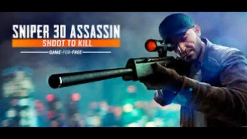 Sniper 3D..... 33 killings map three Primary