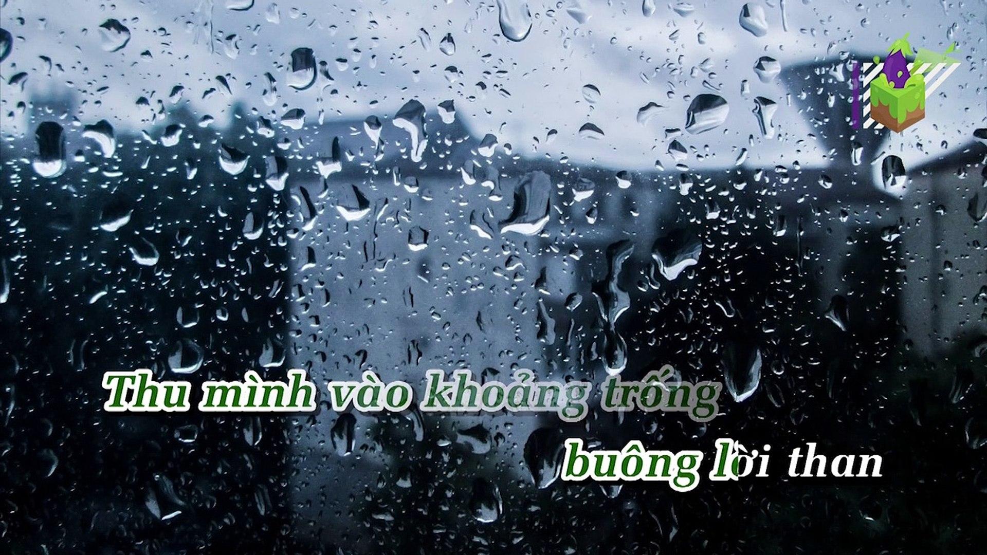 [Karaoke] Mưa Mùa Đông - Thế Phương Vbk Ft. Huy Vạc, Balaci [Beat]