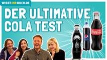 Cola am Geschmack erkennen: Coca Cola, Pepsi, Fritz Cola, Vita Cola, Afri Cola, Penny Cola