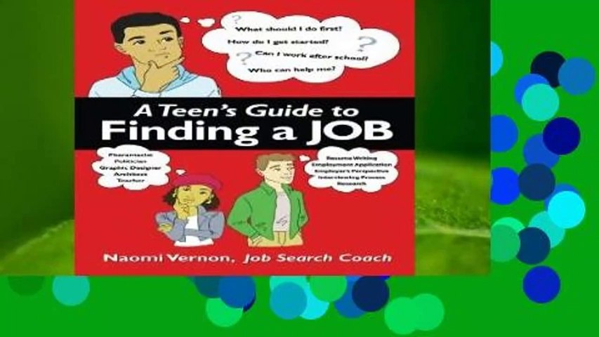 [Doc] A Teen s Guide to Finding a Job