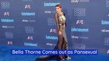 Bella Thorne Discusses Her Sexual Identity