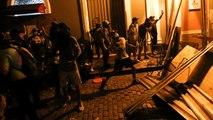 شاهد: اشتباكات بين الشرطة ومتظاهرين يطالبون بإسقاط حاكم بورتوريكو