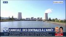 La canicule oblige les centrales nucléaires à stopper leurs activités