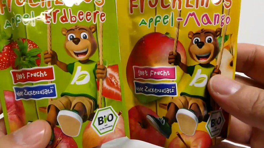BioKids Fruit Puree Apple Strawberry Dessert