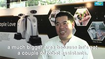 Rapping robots in Singapore