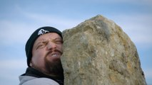 The Strongest Man in History: Lifting a 345 Pound Viking Stone