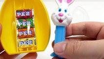 PEZ Easter Egg  - Giant White Bunny Candy Dispenser & Toy