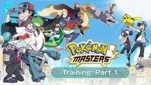 Comment jouer à Pokémon Masters ? Entrainement Partie #1
