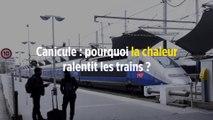 Canicule : pourquoi la chaleur ralentit les trains ?