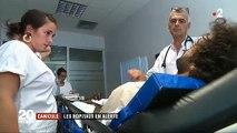 Spéciale Canicule: Les services d'urgences se préparent face à l'afflux de patients après les fortes chaleurs - VIDEO