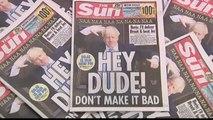 Boris Johnson sur tous les unes des journaux britanniques