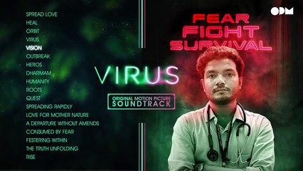 VIRUS Original Motion Picture Sound Track   Aashiq Abu   Sushin Shyam   OPM Records
