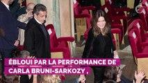 PHOTOS. Nicolas Sarkozy émerveillé par son épouse Carla Bruni...