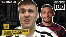 "Two-Footed Talk | ""I'd never start him"" - Carroll return to Newcastle a good idea?"
